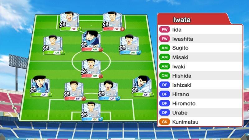 Lineup of Jubilo Iwata